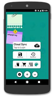 App Sticky Notes + Widget APK for Windows Phone