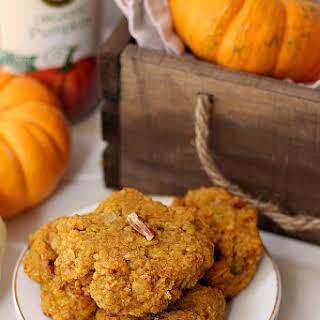 Healthy Pumpkin Oat Breakfast Cookies.