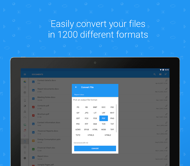 File Commander - Manager, Explorer and FREE Drive Screenshot 16