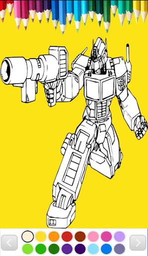Robots Coloring Page Games 1.0 screenshots 6