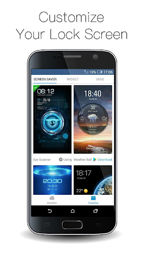 Fingerprint Lock with Analog Clock Prank  screenshots 7