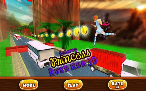 Subway Princess Bus Rush Run screenshot 9