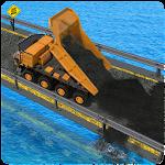 Crane Construction City Road Icon
