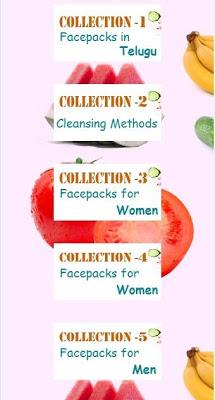 Face Packs - screenshot