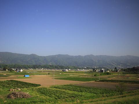 南海バス「サザンクロス」長野線 ・477 飯山~野沢温泉間の車窓_01