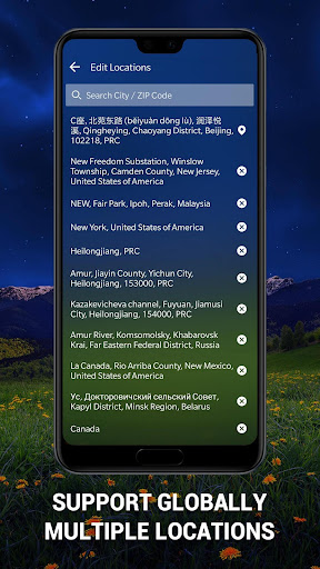 Weather Forecast App & Radar Widget 15.6.0.45253 screenshots 5