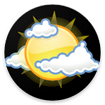 Navbar Weather: weather forecast at navigation bar icon