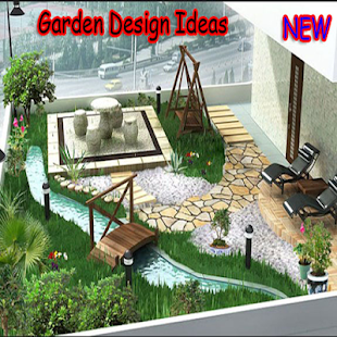 Zahradní design nápady - náhled