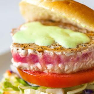 Ahi Tuna Sandwich with Wasabi Mayonnaise