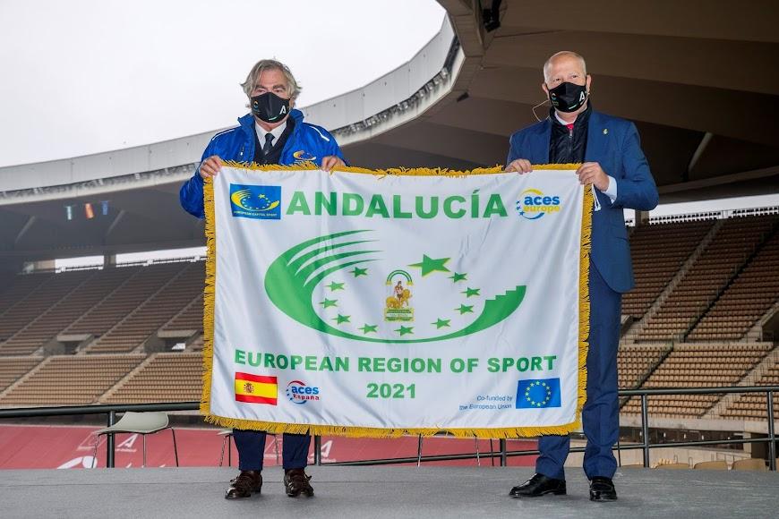La bandera ya está en Andalucía.