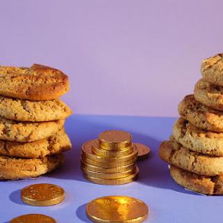 Caramel Cookie Coins.