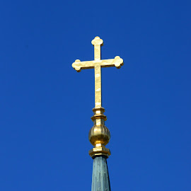 Church cross by Ruth Overmyer - Artistic Objects Other Objects (  )