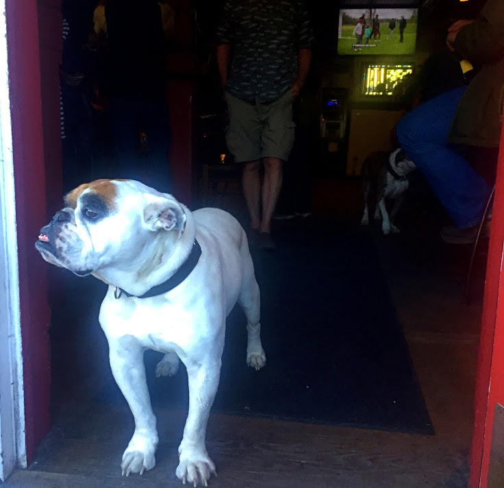 The doorman at Smiley's.