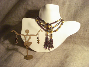 Photo: <BEREHYNYA> {Great Goddess Protectress} unique one-of-a-kind statement jewellery by Luba Bilash ART & ADORNMENT  Freshwater pearls, garnets, 14K gold vermeil NFS  http://www.wikihow.com/Clean-A-Pearl-Necklace
