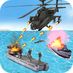 Helicopter Strike Gunship War Icon