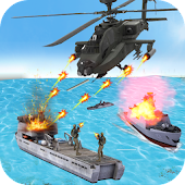 Helicopter Strike Gunship War - Real Gunner