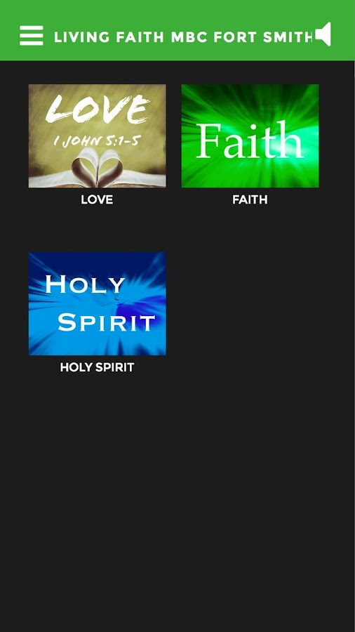 Living Faith MBC Fort Smith AR- screenshot