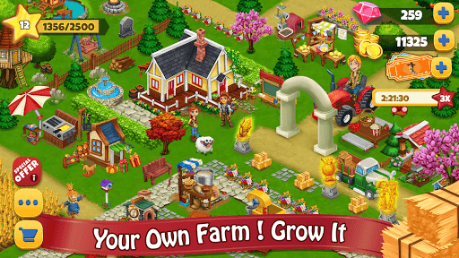 Farm Day Village Farming: Offline Games 1.1.7 screenshots 1