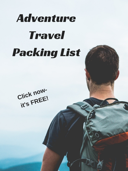 Click here for your FREE Adventure Travel Packing List