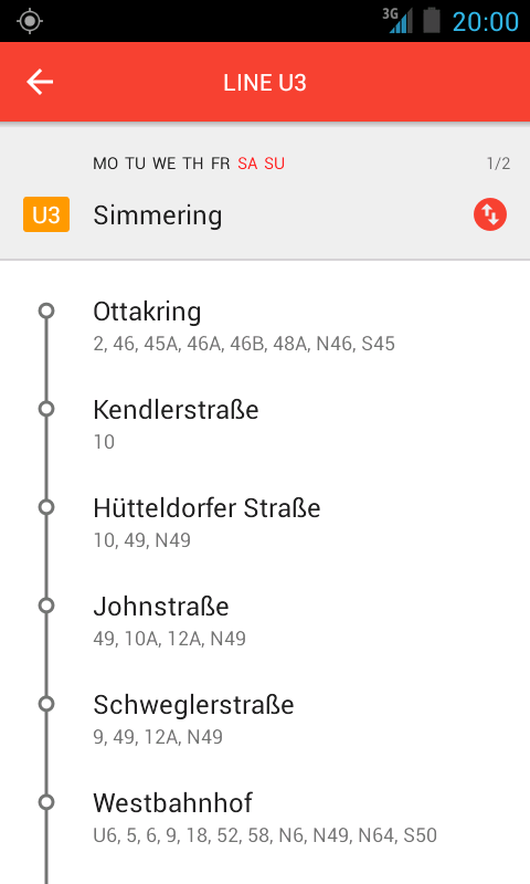 Vienna Subway & Bus- screenshot