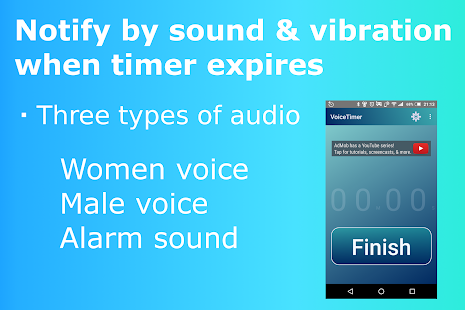 VoiceTimer (free kitchen timer) - náhled