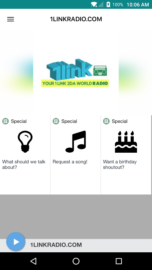 1LINKRADIO.COM- screenshot