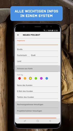 myCRAFTY - Handwerker App screenshot 3