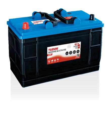 Tudor fritidsbatteri 12V/115Ah---