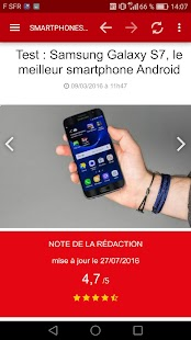 01net : toute l'info High Tech- screenshot thumbnail