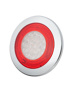 Rund kombinationsbaklykta LED - Ø125 mm