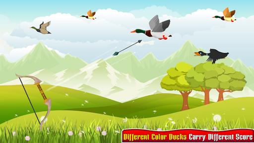 Real Duck Archery 2D Bird Hunting Shooting Game screenshots 6