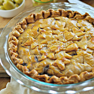 Beef Pie with Olives and Herbs