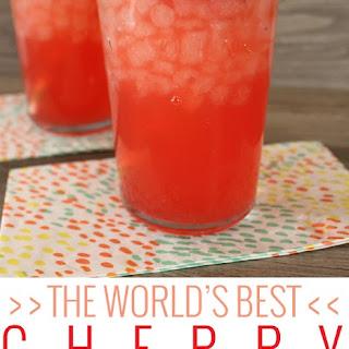 The World's Best Cherry Limeade.