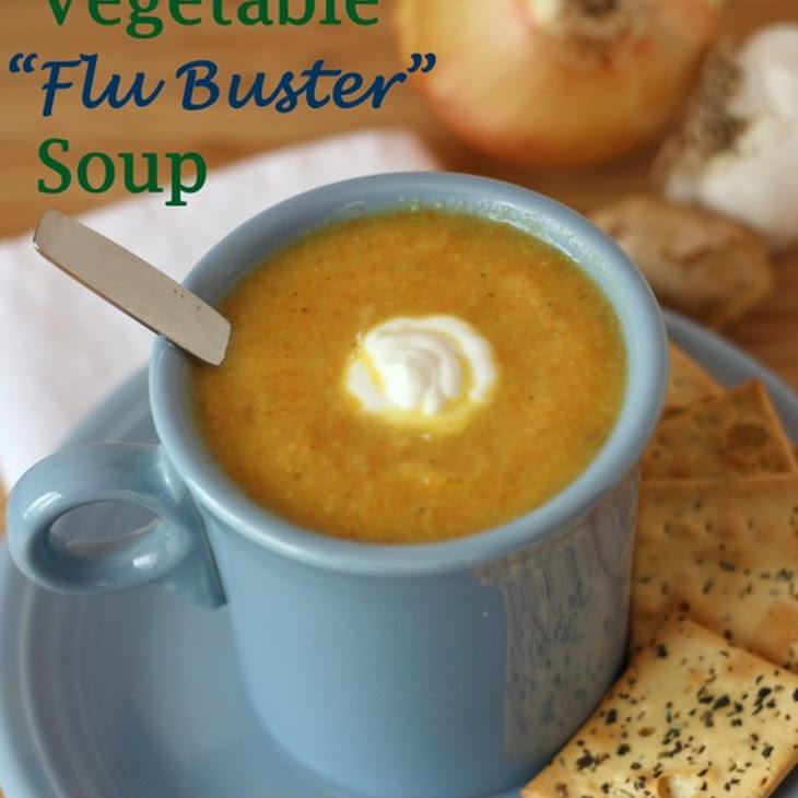 """Vegetable """"Flu Buster"""" Soup"""