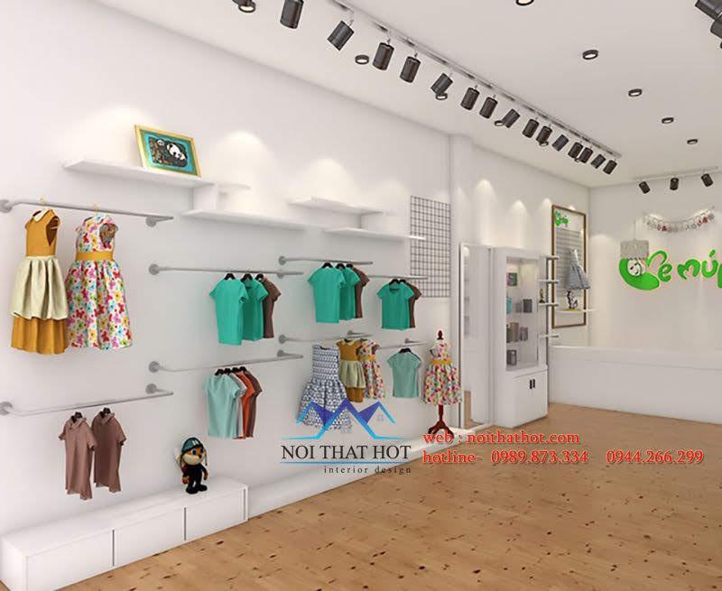 thiết kế shop mẹ và bé 3