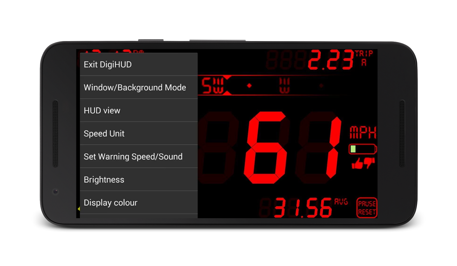 DigiHUD Speedometer- screenshot