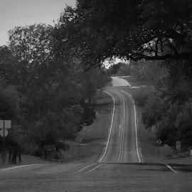 Road by Brenda Shoemake - Transportation Roads