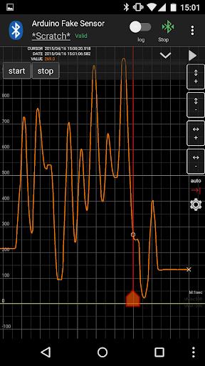 VisualLogger Terminal Graph