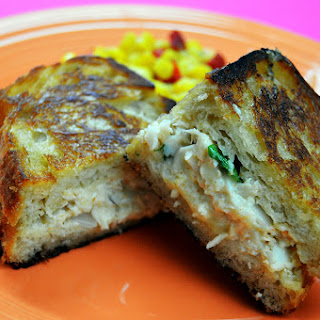 Grilled Crab & Cheese Sandwich
