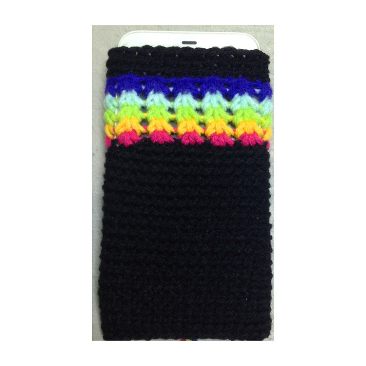 Rainbow phone cover by Ricincraft