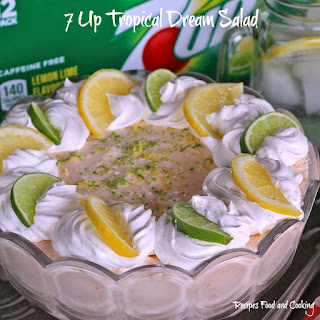 7UP Tropical Dream Salad Recipe