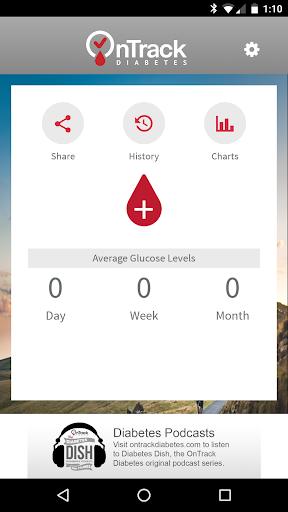 aplicación de seguimiento de diabetes ontrack