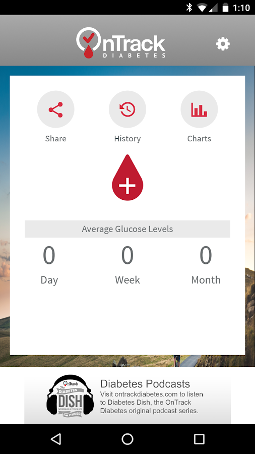 OnTrack Diabetes- screenshot