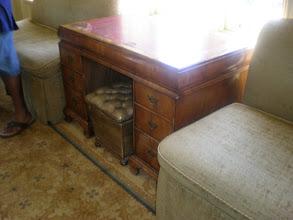 Photo: an original desk of W.E.B. DuBois