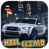 Mustang GT Offroad Hill Climb Racing