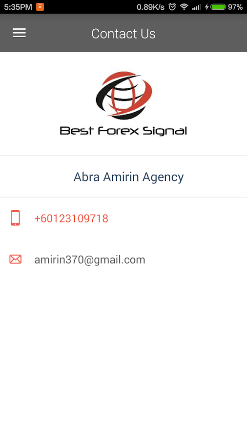 Best forex signal android app