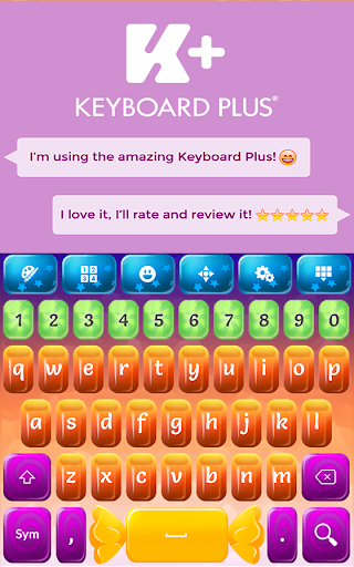 Keyboard Candy screenshot 1