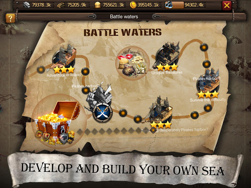 Age of Voyage - pirate's war screenshot 17