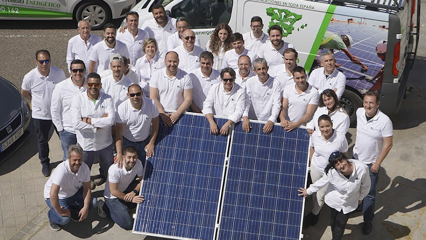 El equipo de Cambio Energético.