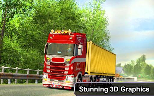 Indian Truck Offroad Cargo Drive Simulator 2 apkdebit screenshots 1